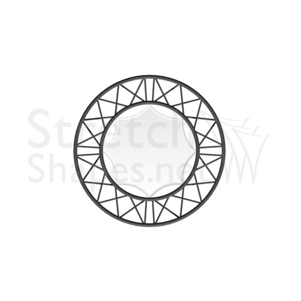 Metric 0.9m Circle Screen