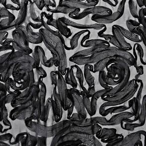 Chiffon Ribbon Swirls
