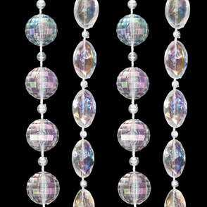 Round/Oval Bead Rental Curtains
