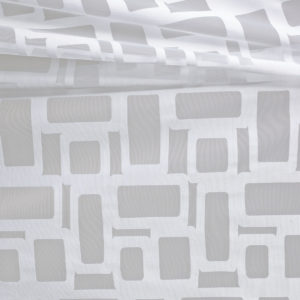 Burn-Out Knit Panels - Curtains