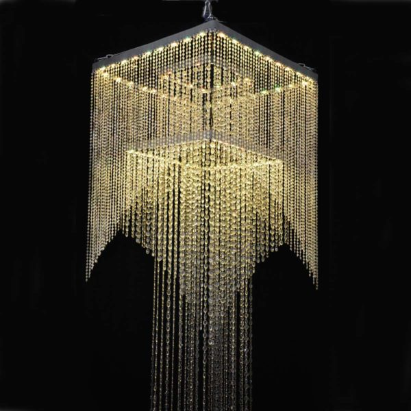 Rental Deco Chandelier