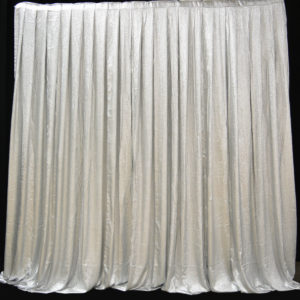 Metal Boucle Rental Drapes