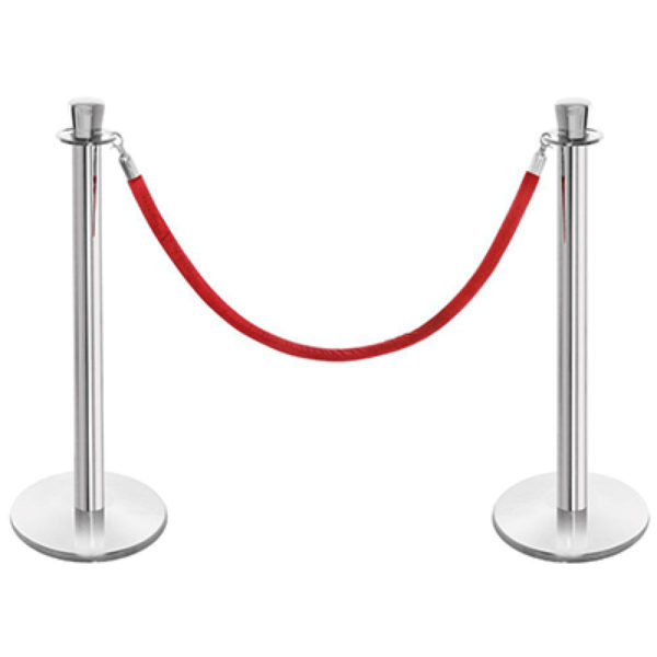 Polished Chrome Stanchions