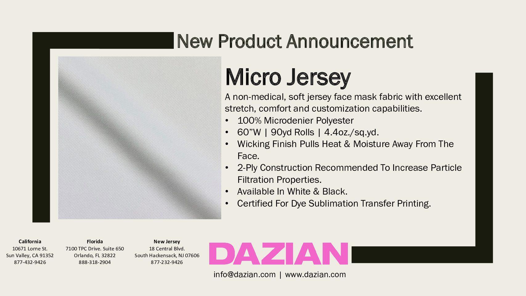 Micro Jersey